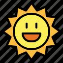 summertime, sun, sunny, warm icon