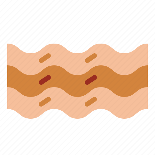 bacon, bacons, strips icon