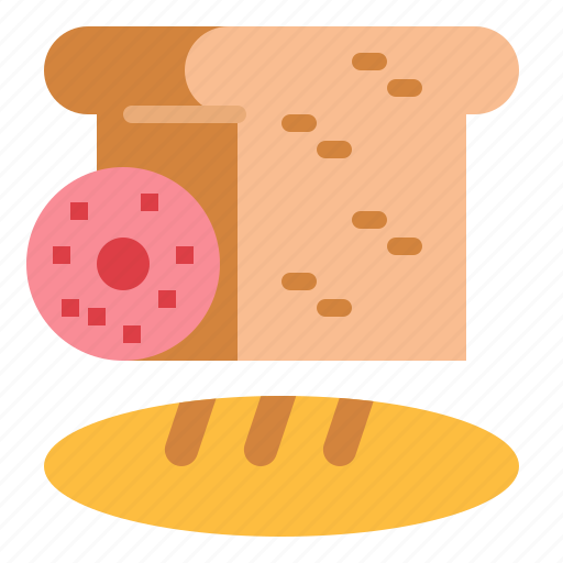 bread, breads, food, healthy icon