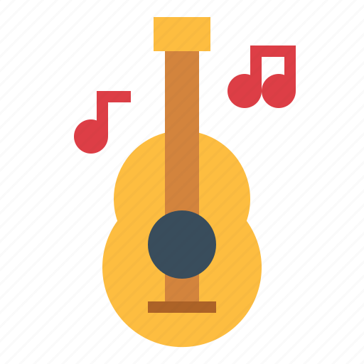 acoustic, guitar, spanish icon