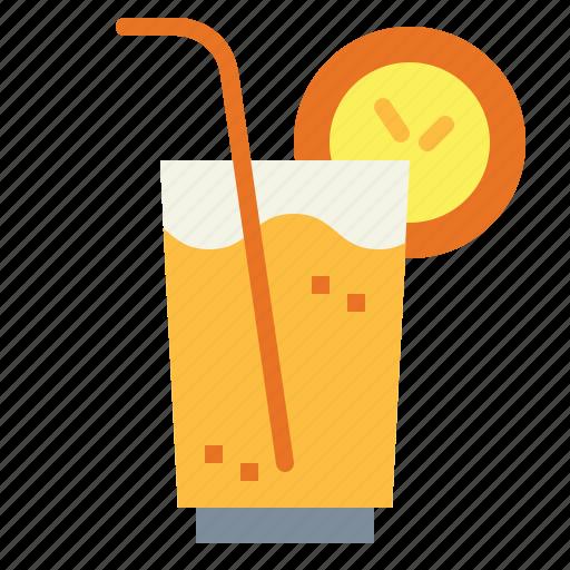 drink, juice, orange, soda icon