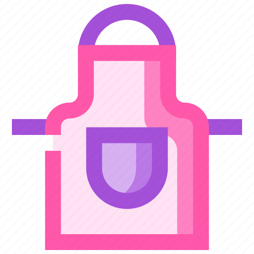 apron, barbeque, party, picnic, summer icon