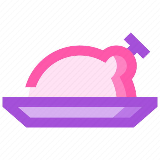 barbeque, chicken, party, picnic, summer icon