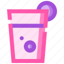 barbeque, juice, party, picnic, summer icon