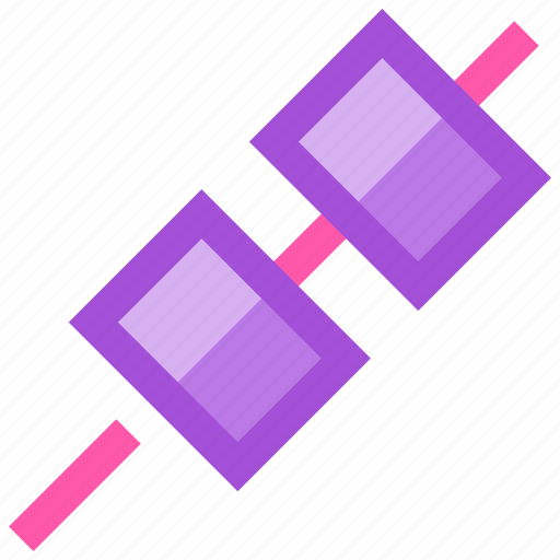 barbeque, marshmallow, party, picnic, summer icon