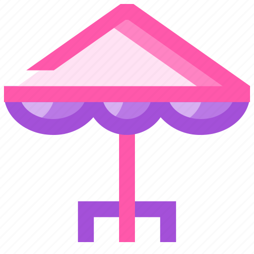 barbeque, party, picnic, summer, umbrella icon