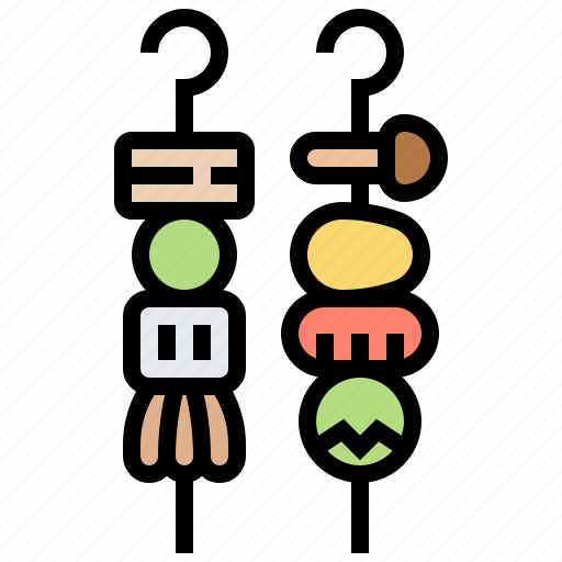 bbq, food, grill, meal, party icon