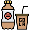 beverage, cola, drink, soda, soft icon