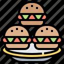 food, hamburger, meal, picnic, snack icon