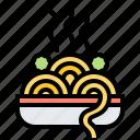 italian, meal, pasta, spaghetti, vermicelli icon