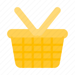 basket, party, picnic icon