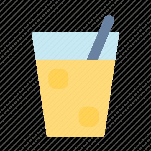 drink, juice, orange, picnic icon