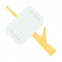 food, marshmallow, picnic icon