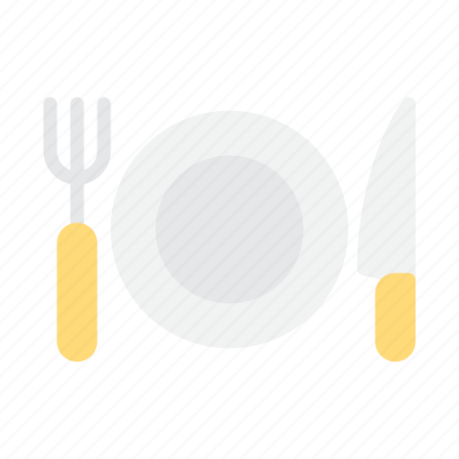 food, picnic, plate icon