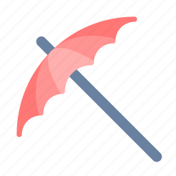 picnic, umbrella icon