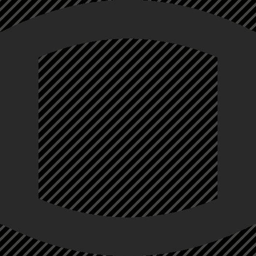 active, box, highlight, organic, screen, square icon