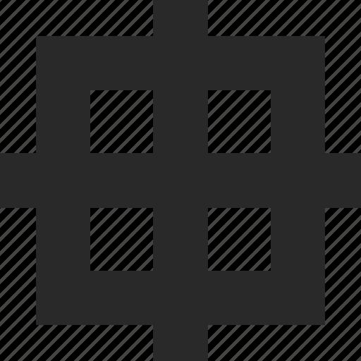 ballance, center, grid, location, position, precision, symmetry icon