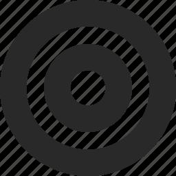 aim, archery, bullseye, circles, goal, target icon