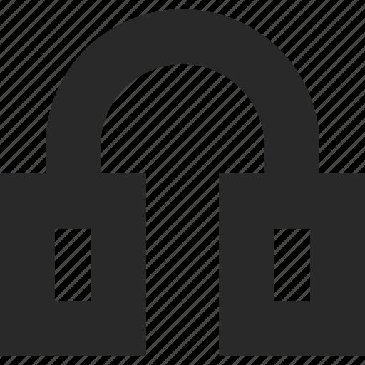 audio, ears, headphones, headset, music icon