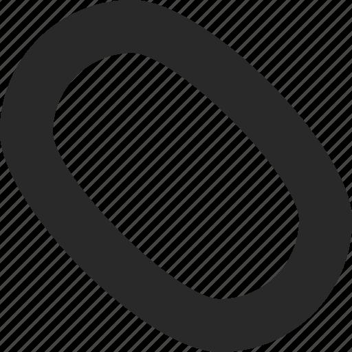 circular, mouse, organic, oval, shape icon