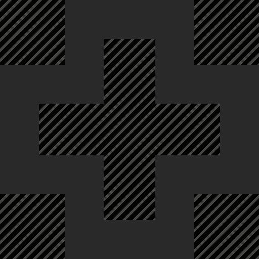 add, append, box, create, new, plus icon