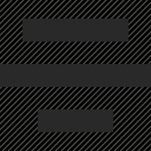 align, center, design, paragraph, style, text icon