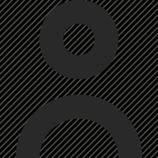 body, head, human, person, portrait, user icon
