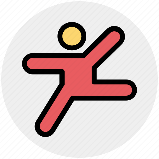 exercise, hands, leg, man, people, training, yoga icon