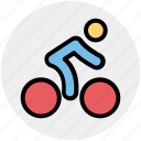 bicycle, ride, transport, fitness, cycling, exercise, man