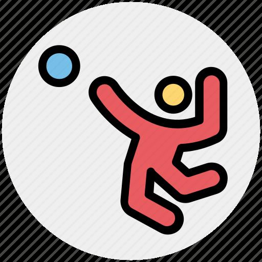 activity, ball, handball, olympic, play, sport icon