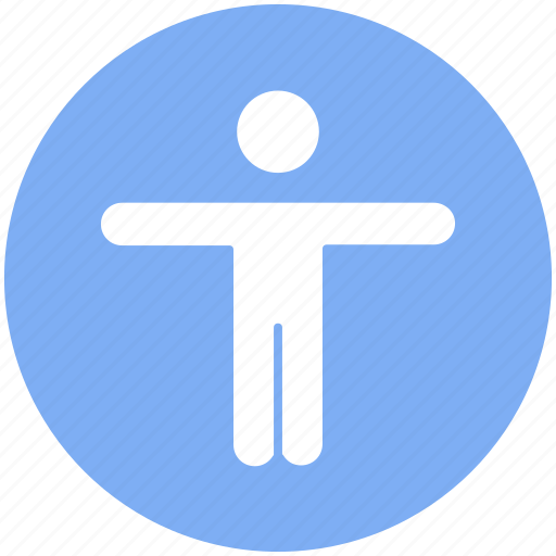 arms, exercise, hands, open, person, workout icon