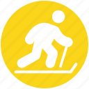 ice skater, ice skating, ice sports, ski, ski jump, skier, skiing icon