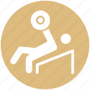 bodybuilder, exercise, fitness, gym, health, weightlifting icon