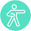 taekwondo, arts, yoga, stance, martial, judo, exercise icon