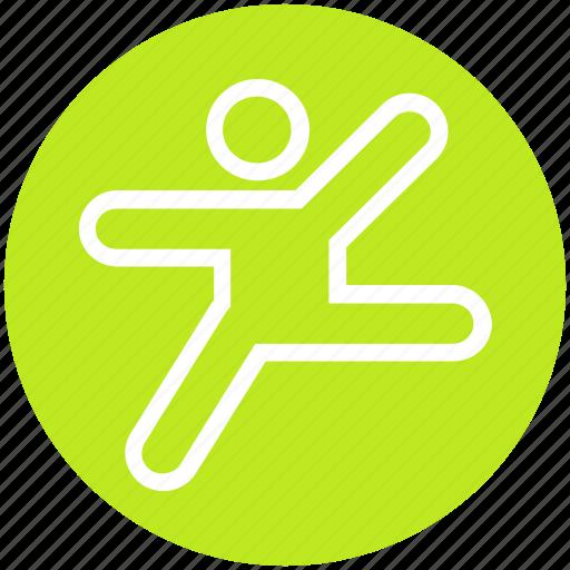 exercise, hands, leg, man, people, training, yoga icon