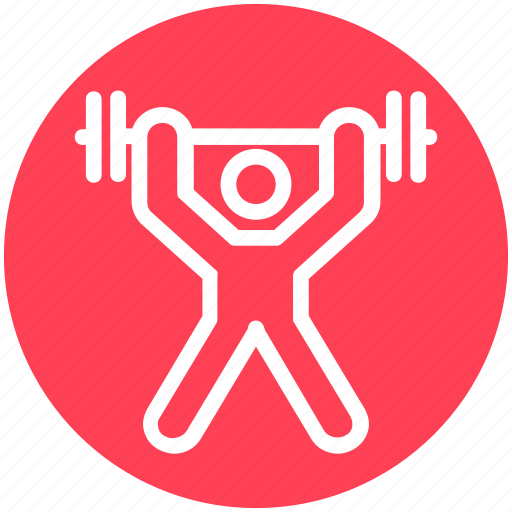 dumbbell, gym, health, sport, stamina, strength, weight icon