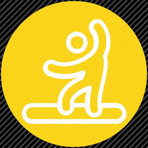 man, person, skurfing, sport, surfer, water, water sport icon