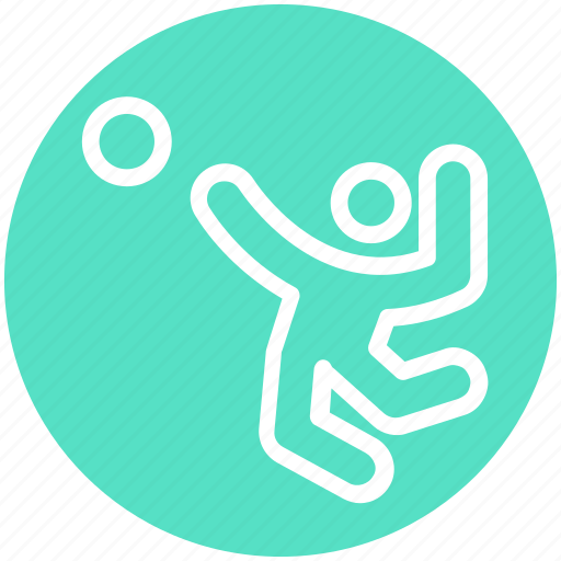 Activity, ball, handball, olympic, play, sport icon - Download on Iconfinder