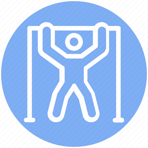 Athlete, bodybuilder, exercise, fitness, gym, man, person icon - Download on Iconfinder