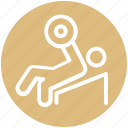 gym, bodybuilder, health, fitness, weightlifting, exercise icon