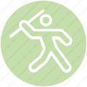 olympic games, olympic, stick man, athlete, javelin throw, javelin, throwing javelin icon
