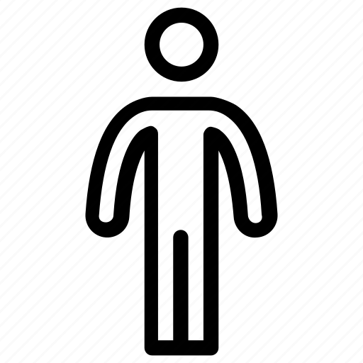 human, male, man, man standing, person icon