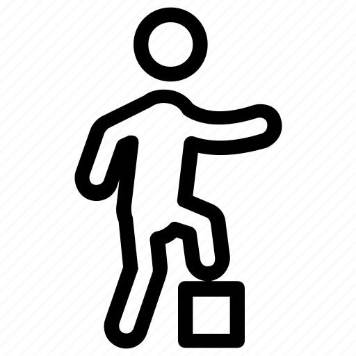burpee, exercise, fitness, squat thrust, workout icon