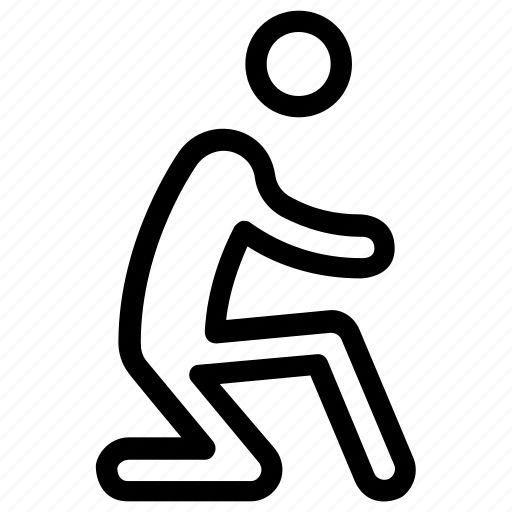exercise, fitness, jump lunge, stretching, workout icon