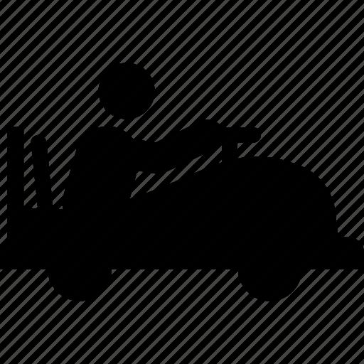 buber, bumper car, bumper riding, kids, transportation icon