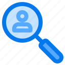 discover, find, friend, people, search icon