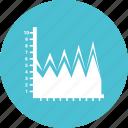 analytics, business chart, growth chart, infograph