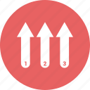 bar, bar chart, bar graph, bar growth, bar growth arrow, bar sale icon