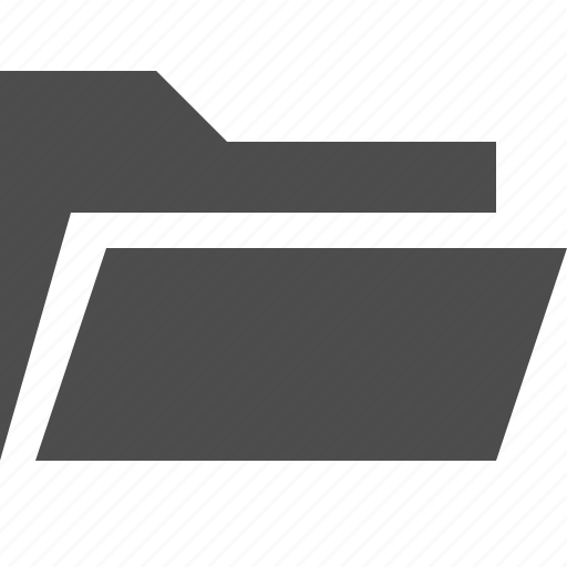 Binder, directory, file, folder, open icon - Download on Iconfinder