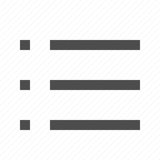 chart, checklist, lines, list icon